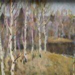 Soviet wood artist Valery Vasilievich Zhigaltsev 1949-1994