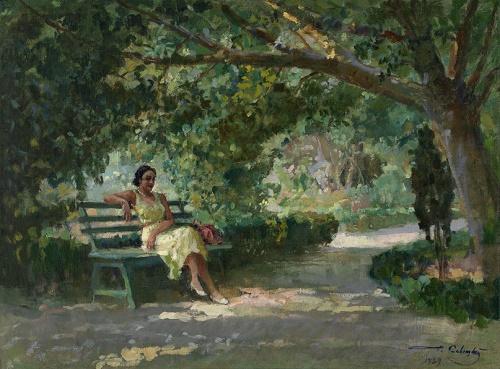 Soviet realist artist Georgy Savitsky