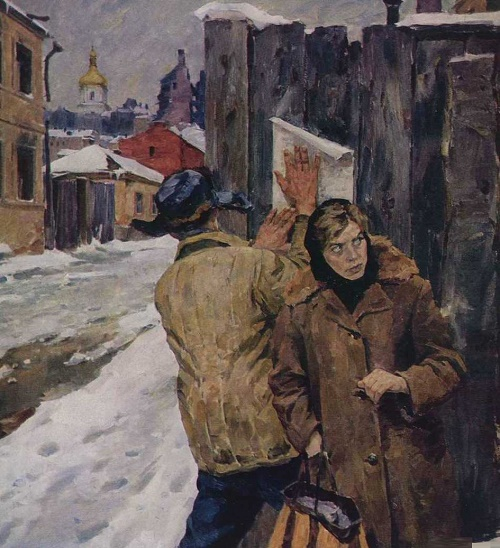 Soviet Ukrainian painter Victor Puzyrkov