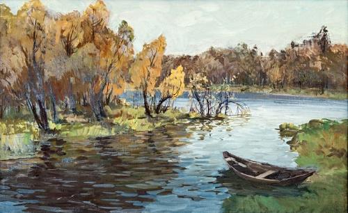 Lake Linyovo. 1986