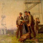 Soviet Tatar artist Makhmut Usmanov 1918-2006