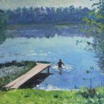 Soviet Ukrainian painter Elena Yakovenko 1914-1999