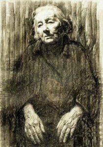 Soviet Karelian artist Georgy Stronk
