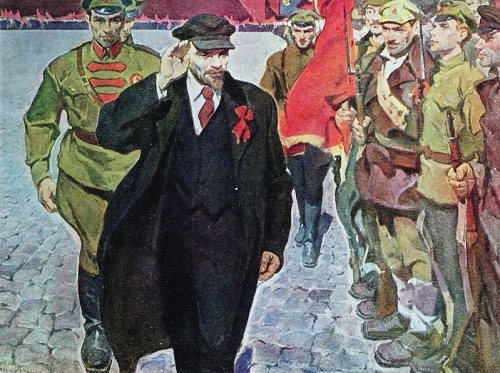 On Red Square. 1964-1965. Soviet artist Konstantin Filatov 1926-2006