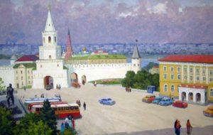 Soviet Tatar artist Makhmut Usmanov