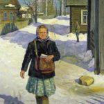 Soviet artist Nikolai Alexandrovich Sysoyev