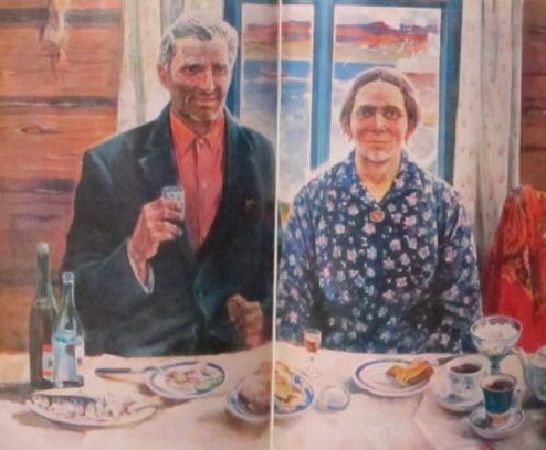 Soviet realist painter Alexey Yeryomin