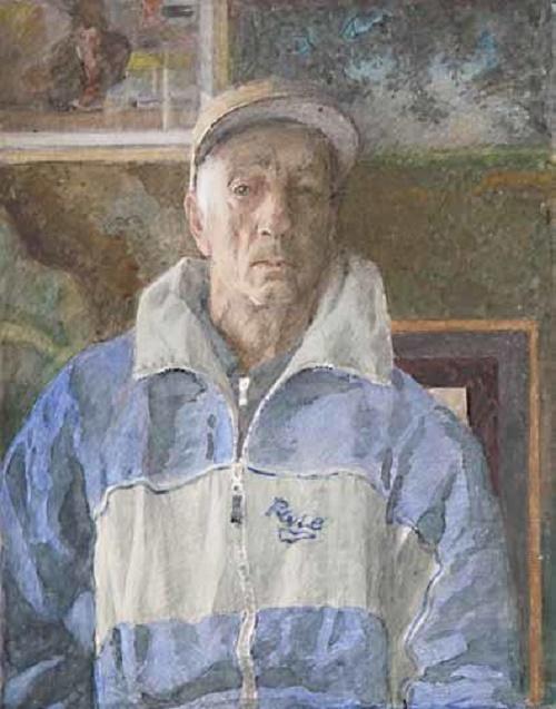 Soviet artist Oleg Dmitrievich Korovin