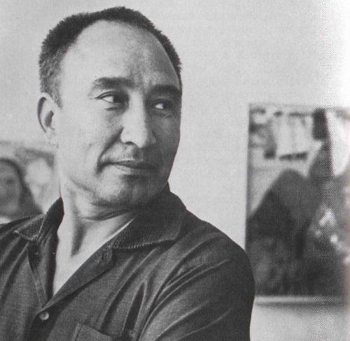 Soviet Turkmen artist Izzat Klychev