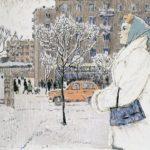 Soviet graphic artist Stanislav Nikireyev