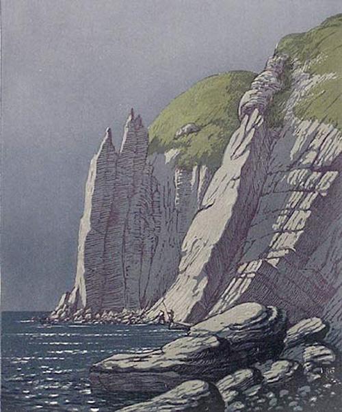 Soviet graphic artist Viktor Bibikov