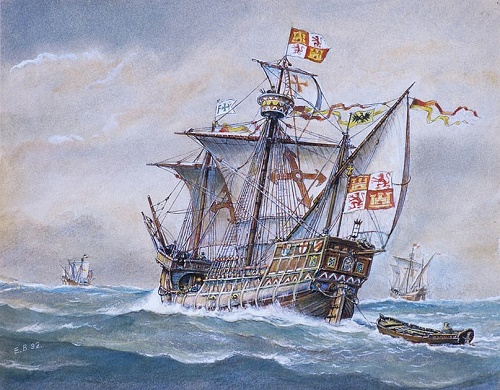 The squadron of Christopher Columbus. 1992 (co-author BM Starodubtsev)