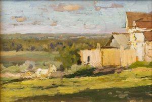 Soviet painter Vladimir Alexeyevich Vasin