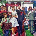 Soviet artist Boris Vasilievich Korneyev 1922-1973