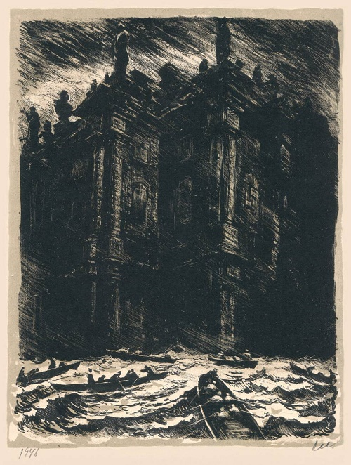 1946 lithography, Petersburg series