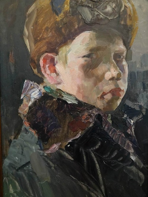 A boy's portrait