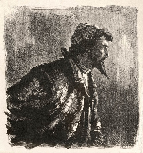 Portrait of Boris Godunov, 1948