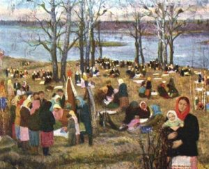 Soviet socialist realism artist Fyodor Shurpin
