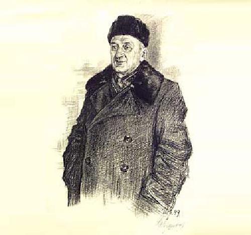 Soviet graphic artist Igor Ivanovich Yershov