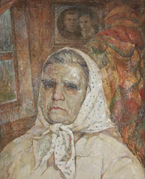 Soviet artist Viktor Nikolaevich Pegov