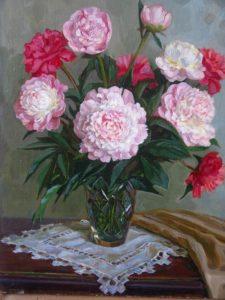 Soviet painter Elza Davidovna Khokhlovkina