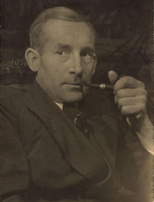 Soviet artist Boris Milovidov