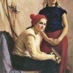 Soviet artist restorer Mikhail Devyatov