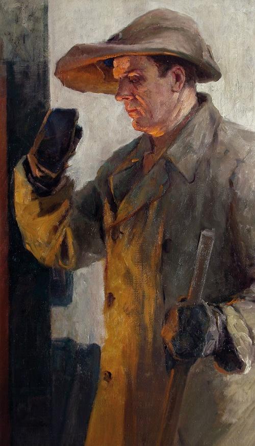 Soviet painter Mikhail Trufanov