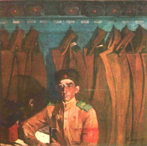 Soviet artist Anatoly Ivanovich Alexeyev