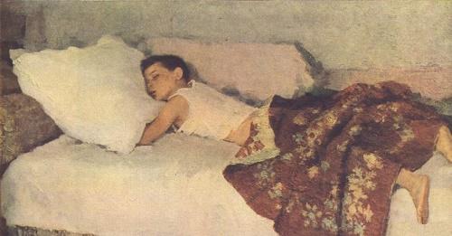 Soviet artist Dmitry Belyaev