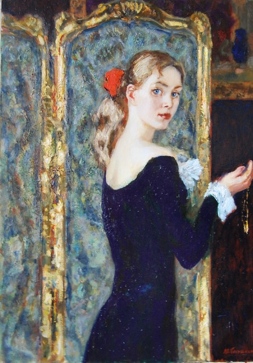 Soviet artist Pyotr Petrovich Litvinsky