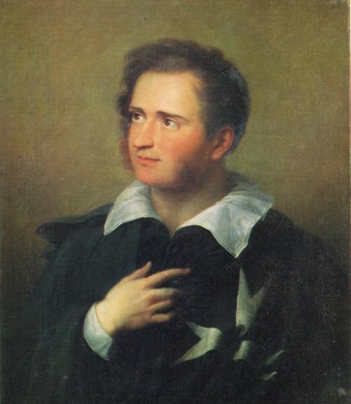 Alexander Varnek. 1782-1843. Portrait of a cavalier of the Maltese order. Soviet Uzbekistan Art museum collection