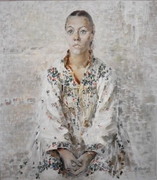 Artist Nadya Kozitsina. 1981. Oil, canvas