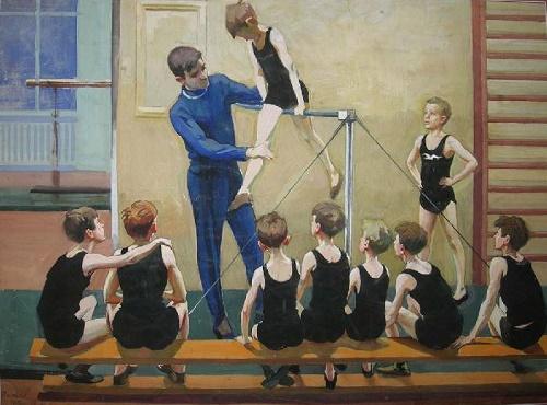 Soviet graphic artist Oleg Vishnyakov (11 December 1935 - 2012)