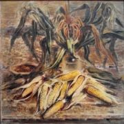 Corn, 1984. Oil on canvas