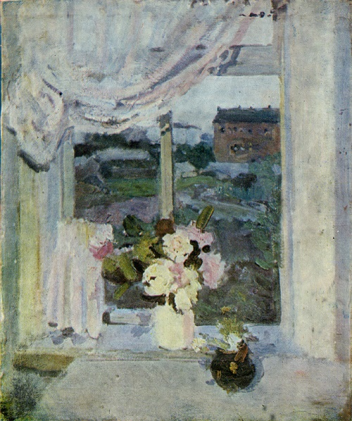 Evening window. 1954
