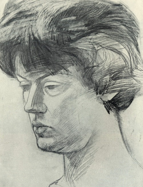Female portrait. 1969