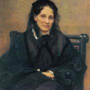 Ivan Kramskoy. 1837-1887. Portrait of E. Kornilova. 1879. Variant of the portrait of the same title (1880, Russian museum, Leningrad). Oil on canvas