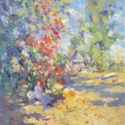 Konstantin Korovin. 1861-1939. Autumn. Oil on canvas