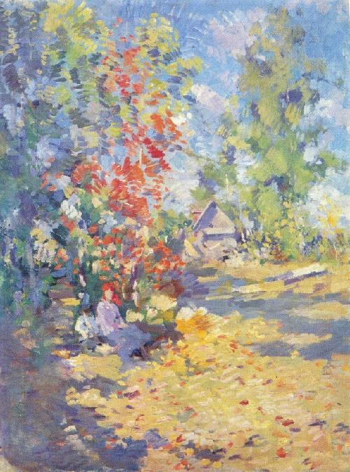 Konstantin Korovin. 1861-1939. Autumn. Oil on canvas
