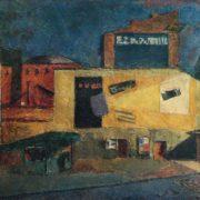 Landscape with kiosk. 1960