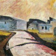 Landscape with sun. 1963