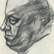Man's head. 1964