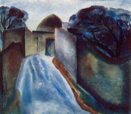 Mardakyany. Rain. 1967. Oil on canvas