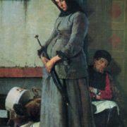 Nikolay Yaroshenko. 1846-1898. Dismissed. 1883. Oil on canvas
