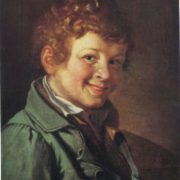 Orest Kiprensky. 1782-1836. Portrait of a boy. 1819. Oil on canvas