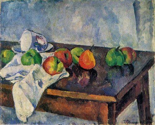 Piotr Konchalovsky. 1876-1956. Still life with fruit. 1916. Oil on canvas