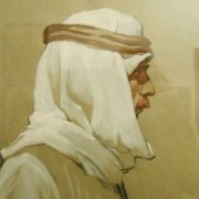 Portrait of Arab. 1965