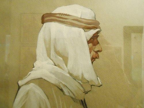 Portrait of Arab. 1965