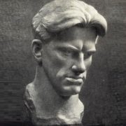 Portrait of Vladimir Mayakovsky. Marble. 1958